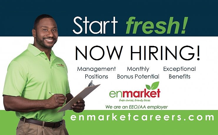Enmarket Careers - Now Hiring Enhanced Benefits! Endless Opportunities! Enrich Life!