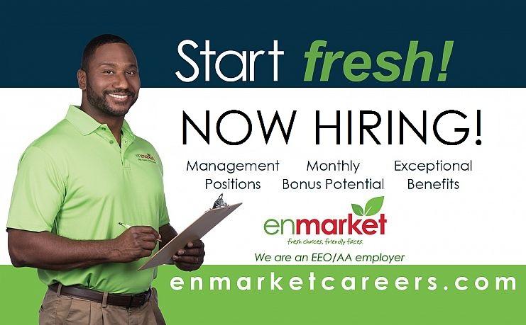 Enmarket Careers - Now Hiring Enhanced Benefits! Endless Opportunities! Enrich Life!