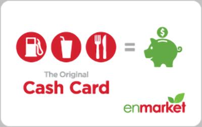 Enmarket Cash Payment Cards