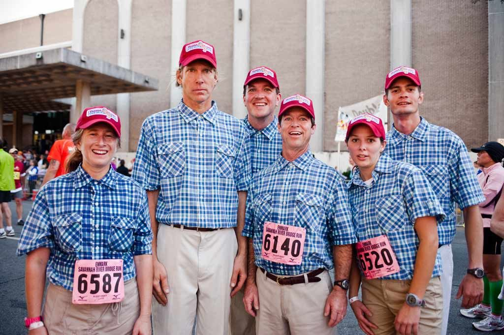 Enmarket Savannah Bridge Run Costume Forest Gump