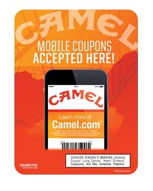 R J Reynolds Tobacco Coupons: Camel Mobile Coupons