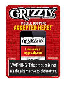 R J Reynolds Tobacco Coupons: Grizzly Mobile Coupons