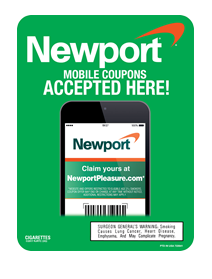 R J Reynolds Tobacco Coupons: Newport Mobile Coupons