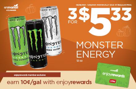 Fall 2021 Promo Monster Energy