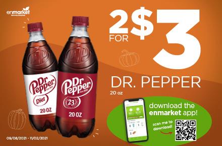 Fall 2021 Promo Dr. Pepper
