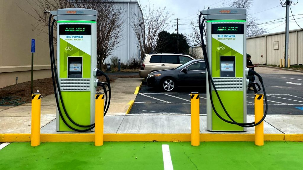 Electric vehicle charging is complimentary until March 1 at this EnMarket in Martinez.